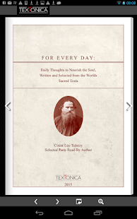 Leo Tolstoy. A Demo of vBOOK- screenshot thumbnail