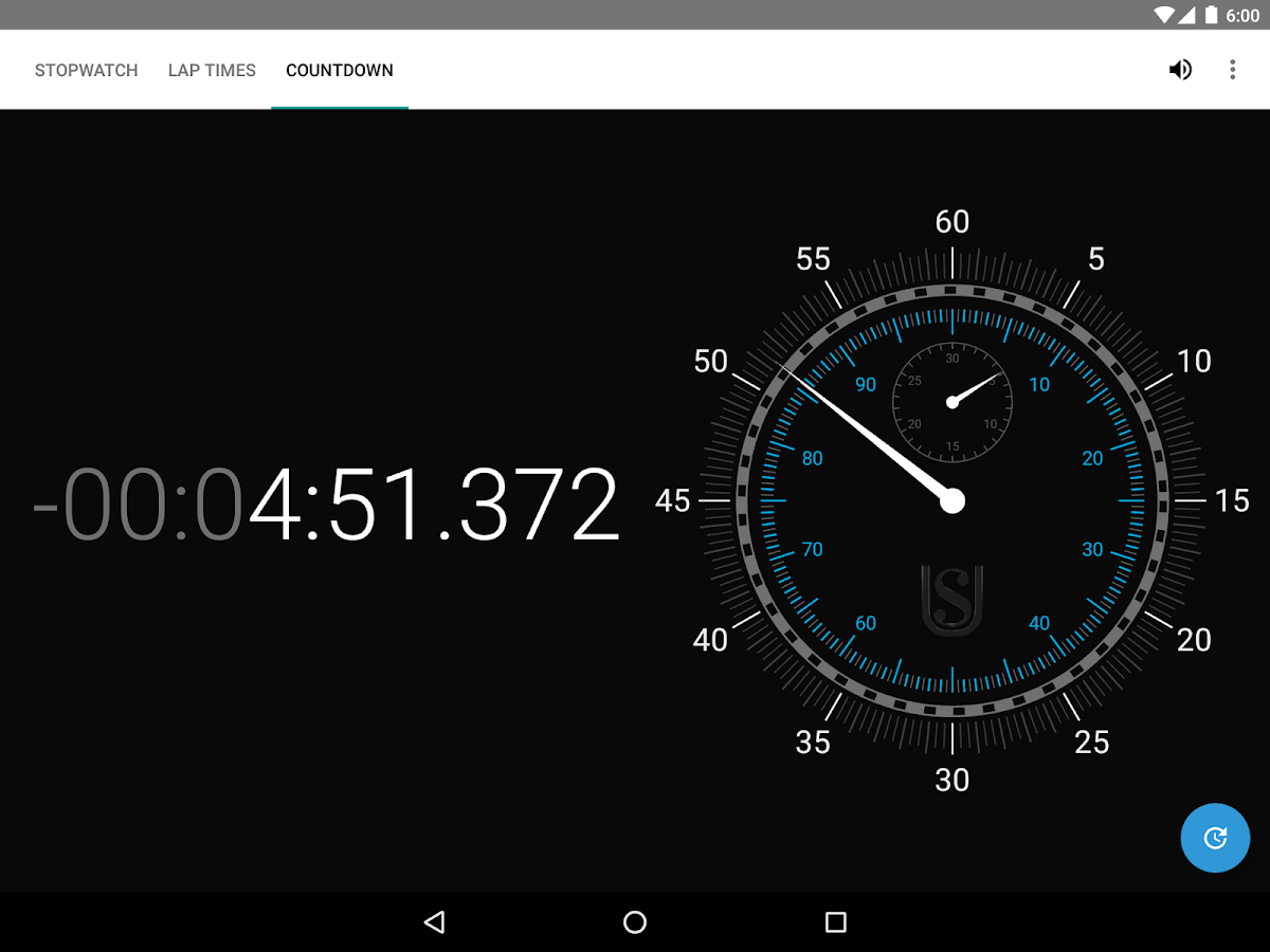 Ultimate Stopwatch & Timer– captura de ecrã