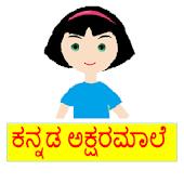 Kannada Alphabet -Akshara male