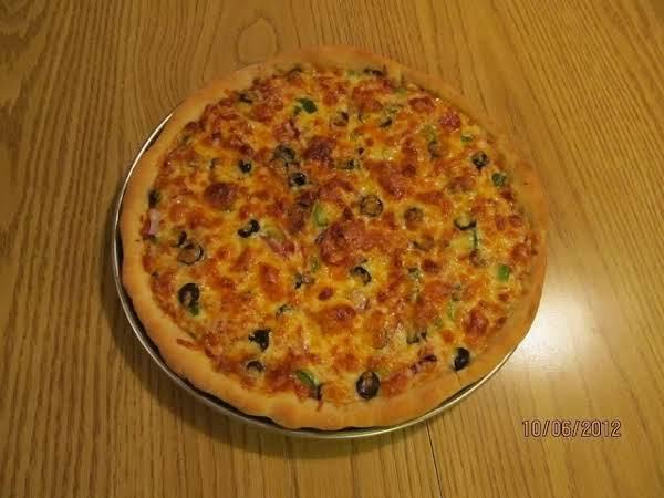 Chicago Style Deep Dish Pizza Recipe