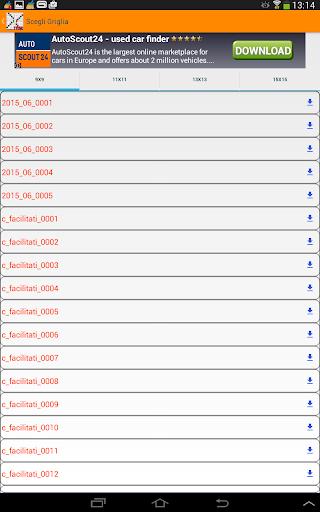 Cruciverba in Italiano gratis 3.7.6 screenshots 13
