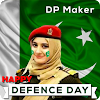 Pakistan Defence Day DP Maker, Pak Flags, Stickers