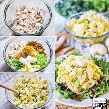 The BEST Curry Chicken Salad - Easy Family Recipes