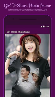 Girl T Shirt Photo Frame- screenshot thumbnail