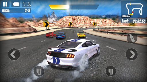 Real Road Racing-Highway Speed Car Chasing Game - screenshot
