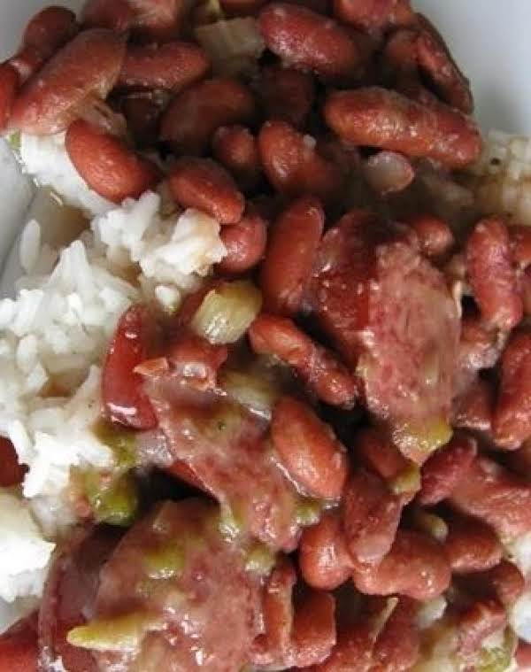 Red Bean And Rice Recipe