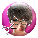 Short Hair Salon Photo Editor icon