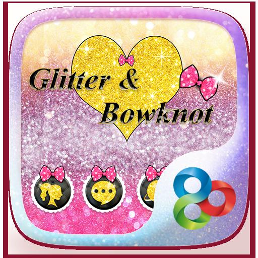 GlitterBowknotGO LauncherTheme