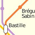 Metro 01 (Paris) icon