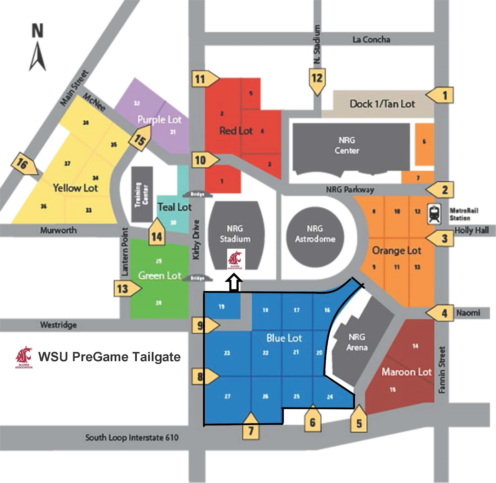 Map of NRG