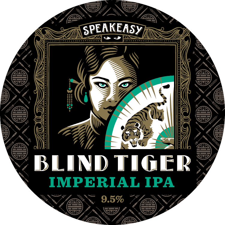 Logo of Speakeasy Blind Tiger Double IPA