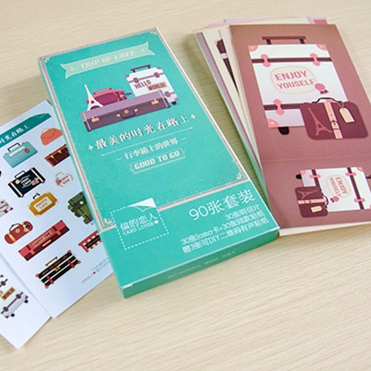 Postcard Set - Trip of Love
