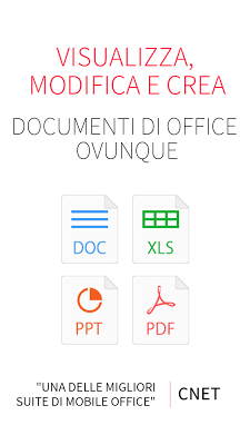 WPS Office + PDF v10.0.4 DOWNLOAD ANDROID ITA