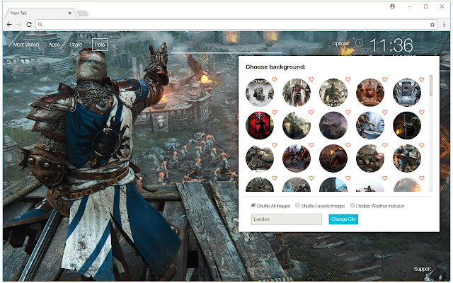 For Honor Backgrounds New Tab - freeaddon.com