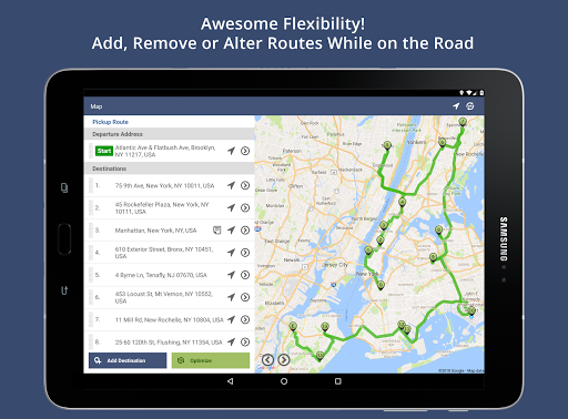 Route4Me Route Planner 4.3.8 screenshots 6