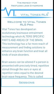 Vital Tones RLS- screenshot thumbnail