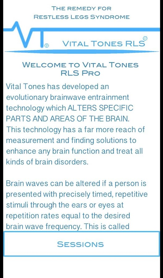 Vital Tones RLS- screenshot