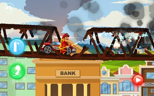 Fire Fighters Racing: Fireman Drives Fire Truck  screenshots 8