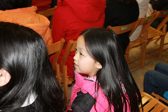 Photo: 觀賞陶笛家族的表演,小朋友非常喜歡呢!