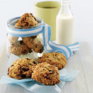 Crunchy Oat Cookies.