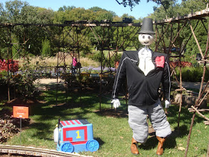 Photo: Giddy Up Sir Topham Hat Scarecrow