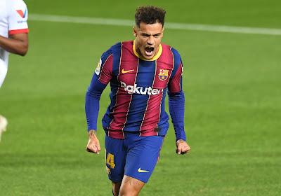 Mauvaise nouvelle pour Philippe Coutinho et le Barça