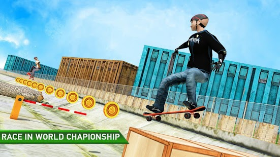 Street Skateboard Skating Game - náhled