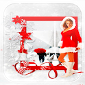 Hot Christmas Girl L Wallpaper icon