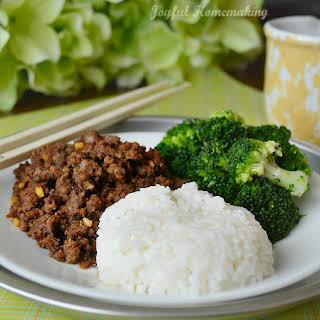 Amazing Korean Beef Recipe & Great Flavoring for Chicken Too.