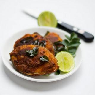Spicy Fish Fry - Masala Fish Fry Tamilnadu Village Style.
