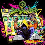 Street Graffiti Art Keyboard Theme