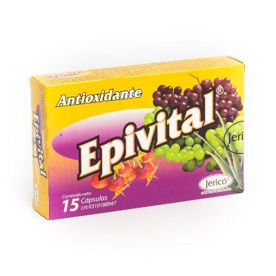 Multivitaminico Epivital X 15 Cápsulas jerico x 15 capsulas