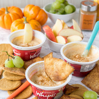 Pumpkin Pie Yogurt Dip