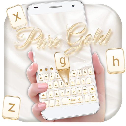 Pure Gold  Keyboard Theme