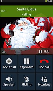 Santa Talking - fake call screenshot