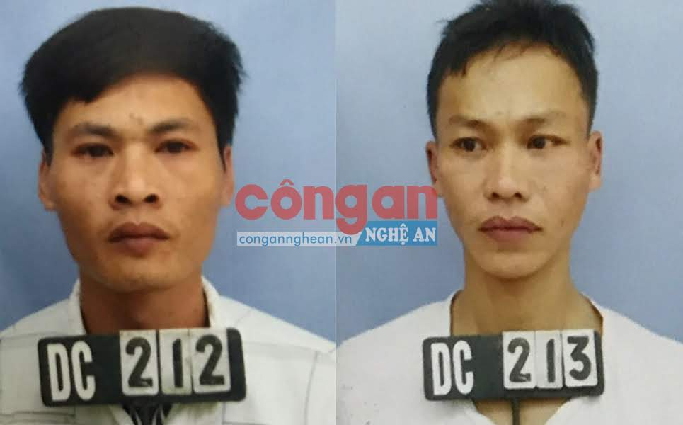 2 đối tượng trộm gà bị bắt giữ