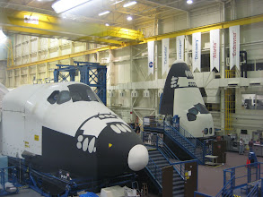 Photo: Horiztonal and Vertical Shuttle Compartment mockups