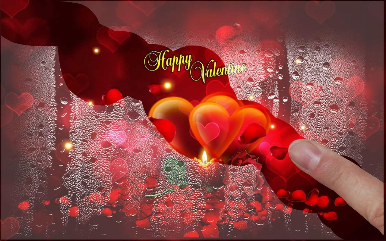 valentine 2018 live wallpaper screenshot - Live Valentine Wallpaper