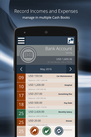 AKUN.biz Online Cash Book- screenshot