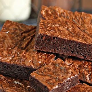 Ultimate Fudgy Chocolate Brownies.