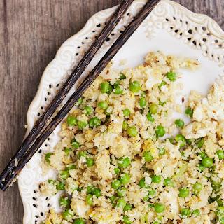 Egg Fried 'Cauli Rice'.