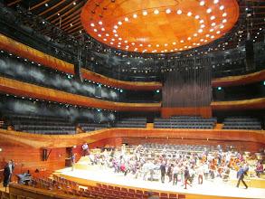 Photo: No i oto cudna sala. Orkiestra zbiera się na próbę