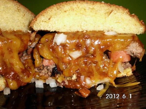 All American Chili Cheese Burger Dog Recipe