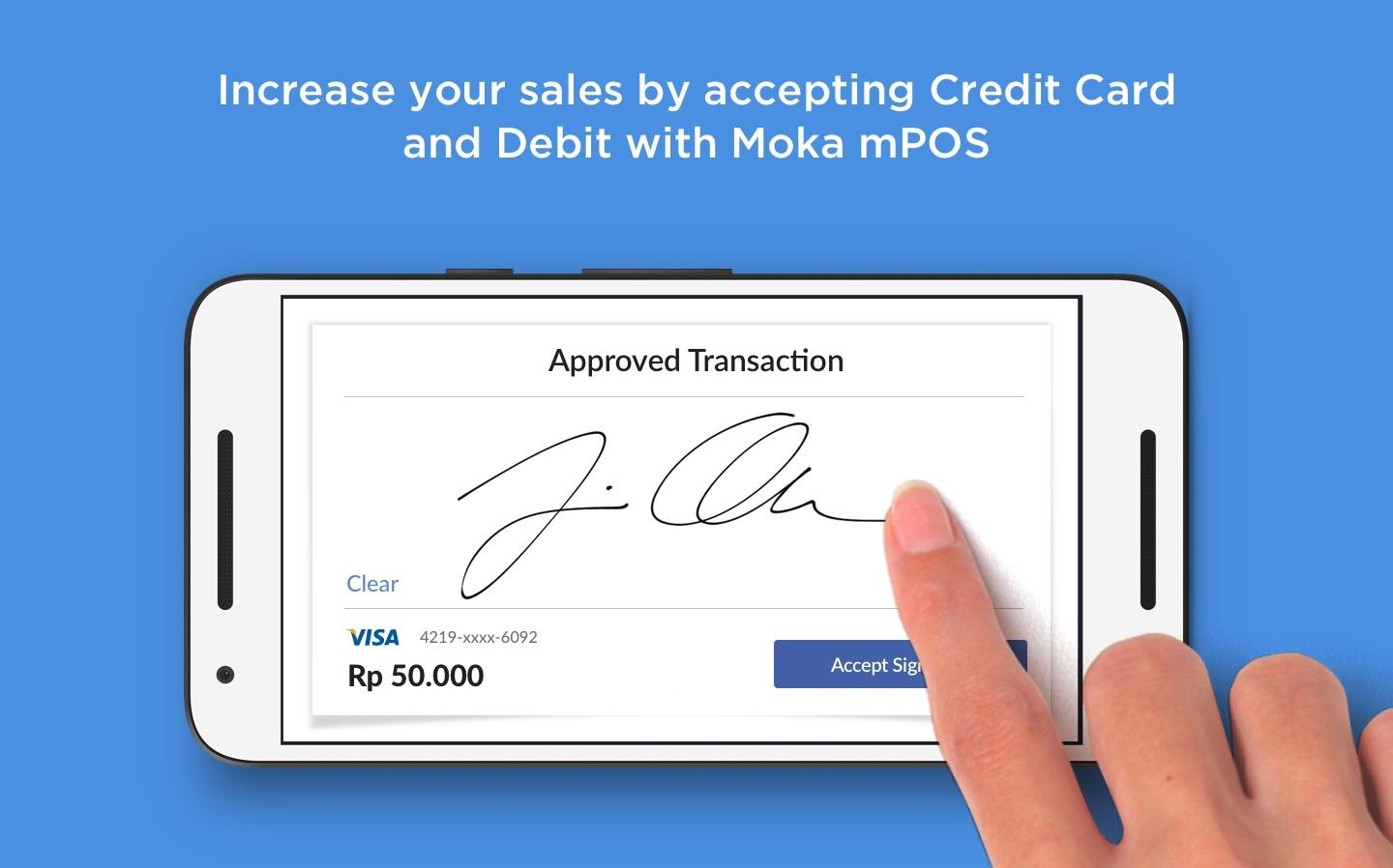 Moka POS- screenshot