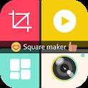 Insta Square Maker Color Photo