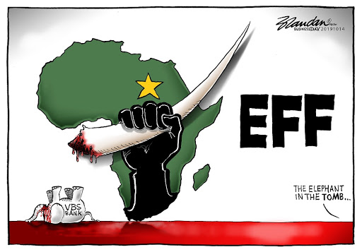 CARTOON: EFF's VBS elephant in the tomb