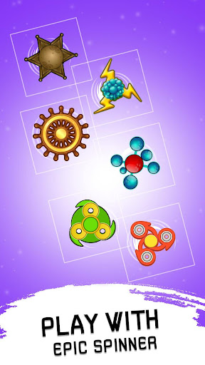 Code Triche Fidget Spinner Evolution - Merge & Collect Fidget apk mod screenshots 2