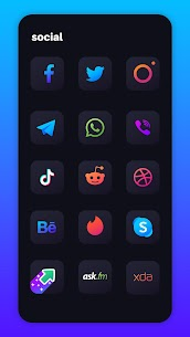 Nova Dark Icon Pack – Rounded Square Shaped Icons v4.6 [Patched] 5