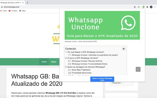 Baixar Whatsapp Unclone o APK Atualizado 2020