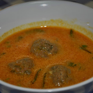 Ball Curry (Beef Meatballs in a Coconut Curry) Recipe